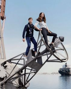 Who's ready to #SailAway with #Lacoste?