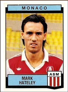 11-Mark HATELEY Panini Monaco 1988
