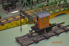Bing Prewar Tinplate Crane Car Model Trains, Toy Trains, Crane Car, Rooftop, The Originals, Ebay, Dreams, Popular, Nice