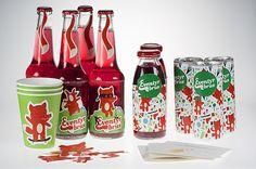 Branding and packaging for the norwegian soda Eventyrbrus