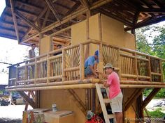 Tropical Guadua Bamboo Guest House in Costa Rica