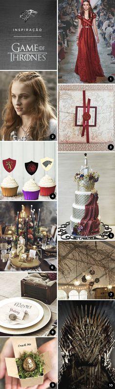 10 ideias para uma festa de 15 anos inspirada em Game of Thrones - Constance Zahn | 15 anos