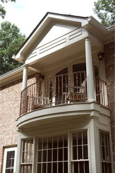 Always wanted a balcony off the master bedroom! One day