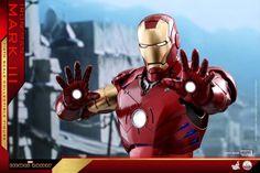 Iron Man – 1/4th Scale Mark III Collectible Figure Coming Soon     DisKingdom.com   Disney   Marvel   Star Wars - Merchandise News First Iron Man, Iron Men 1, Star Wars Merchandise, Disney Marvel, Marvel Cinematic Universe, Scale, Superhero, Guys, Hot
