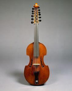 Joseph Gagliano. Viola d'amore ca 1780