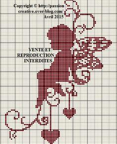 1000 idées sur le thème Cœur De Point De Croix sur Pinterest ...