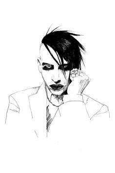 Marilyn Manson.  <3