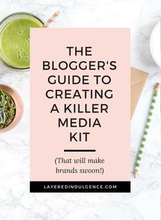 Do you want to work with brands and make money as a blogger? Then you need a media kit! Sponsored posts and brand collaborations are one of the best ways to monetize your blog, but you need a creative media kit filled with your blog stats. Click through t
