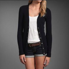 Simple, classic look by Abercrombie. Love