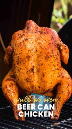 Asiago Chicken, Beer Can Chicken, Canned Chicken, Spatchcock Chicken, Tandoori Chicken, Chicken Recipes Juicy, Grilled Whole Chicken, Green Egg Recipes, Cooking Recipes