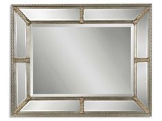 Shop For Uttermost Lucinda Antique Silver Mirror 14048 B And Other Bedroom Mirrors At Swanns Furniture In Tyler TX