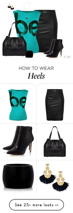 """""""Don't just be.  Be Fabulous!"""" by ksims-1 on Polyvore featuring moda, WearAll, Mint Velvet, Alexander McQueen, Michael Kors y Tory Burch"""
