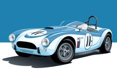 How Le Mans Inspired An Artist To Illustrate the Illustrious - Petrolicious