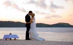 qualia Beach Wedding in Australia