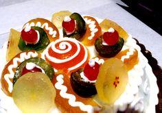 Cassata Siciliana Italian Frozen Dessert Cake