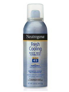 Neutrogena Body Mist Sunblock