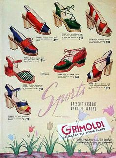 199eeef978c95 55 Best Fab Footwear images in 2018 | Shoe, Vintage fashion, Vintage ...
