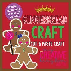 Gingerbread Man and Girl Craft FREEBIE - Engaging Children through Imagination