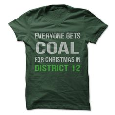 Do you have holiday spirit and love the Hunger Games? Show everyone your holiday humor, with this great shirt.