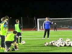 Finishing on goal - Technique to Skill - YouTube