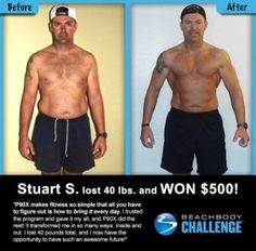 Did you know that you can win $500 by submitting your P90X or Insanity results in the Beachbody Challenge?