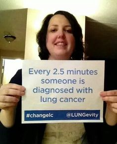This #lungcancer survivor wants you to help #ChangeLC www.lungevity.org
