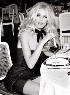 Claudia Schiffer   Photography by Ellen von Unwerth   For Guess Campaign   2012 (3rd part)