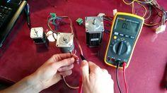 como identificar las bobinas de un motor de paso