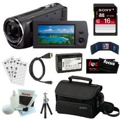 Sony HDR-CX230 8GB Embedded Memory HD...  Order at http://www.amazon.com/Sony-HDR-CX230-Embedded-Camcorder-Accessory/dp/B00CBJLXC2/ref=zg_bs_172421_82?tag=bestmacros-20