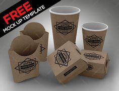 """Check out this @Behance project: """"FREE Fast Food Set PSD Mock Up Template"""" https://www.behance.net/gallery/47544393/FREE-Fast-Food-Set-PSD-Mock-Up-Template"""