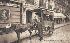 Le rempailleur  de chaises en 1900