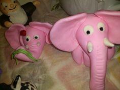 Fondant fun/ Elephants!!