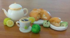 Té y tarta de manzana - de lucia