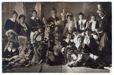 Fasching in Ulm C. Stichaner, Hof-Photograph, Ulm a. d. D. - chroniknet - Private Bilder, Fotos des Jahrhunderts