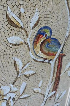 The Friul Mosaic tiles can be inserted into any type of coating.