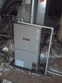 Vertical Attic Install Of A Client S New Trane Furnace And Evaporator Coil Nice Work Trane Furnace