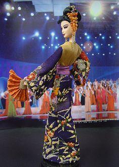 OOAK Barbie NiniMomo's Miss Japan 2007 2008