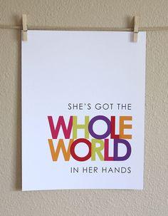 word art..nursery