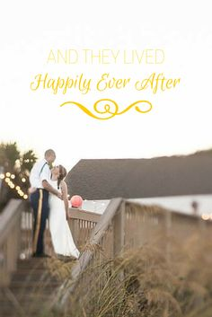 And they lived happily ever after. #weddings #love #quotes