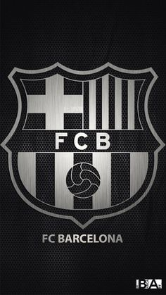Barcelona logo black and white wallpaper Barcelona Fc Logo, Barcelona E Real Madrid, Barcelona Futbol Club, Barcelona Soccer, Team Wallpaper, Football Wallpaper, White Wallpaper, Cr7 Messi, Neymar Jr