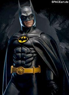 Batman 1: Michael Keaton - Premium Format Figur http://spaceart.de/produkte/bm022.php