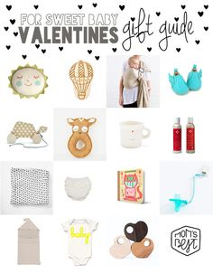 Valentine's Gift Guide For Your Sweet Baby | Mom's Best Network