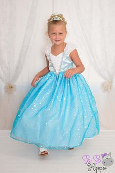 princesses ball gown dress Cinderella Belle Sleeping Beauty