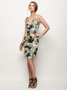 Floral Print Sheath Dress $288