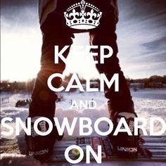 Down. #snowboarding