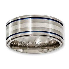 Zales Edward Mirell Mens 10.0mm Etched Scroll Band in Black Titanium bAkQdMtYz