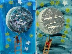 """Résultat de recherche d'images pour """"activités sur la lune en maternelle"""""""
