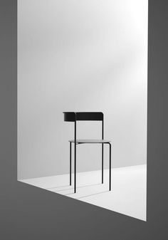 MADE The motivation for the development of the Avoa Chair is autotelia, the autonomous design discourse. The challenge was to. Aesthetic Themes, White Aesthetic, Aesthetic Stickers, Diy Interior, Home Interior Design, Chair Design, Furniture Design, Foto 3d, Journal Du Design