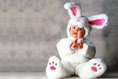 Déguisement bébé : Lapin blanc