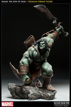 Skaar - Son of Hulk Premium Format Figure - Sideshow Collectibles - SideshowCollectibles.com